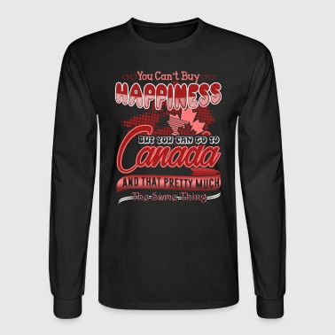 Canada Happiness Shirt - Men's Long Sleeve T-Shirt