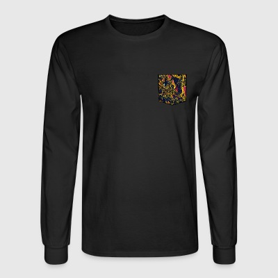 Hiding bird - Men's Long Sleeve T-Shirt