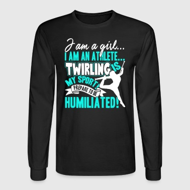 Twirling Shirt - Men's Long Sleeve T-Shirt