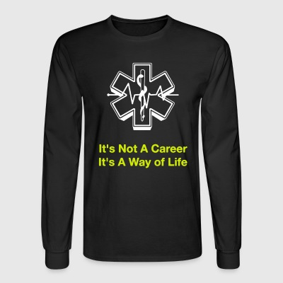 EMS T Shirts - Men's Long Sleeve T-Shirt