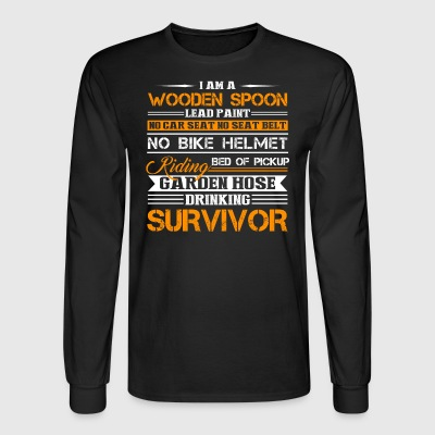 Survivor Shirt - Men's Long Sleeve T-Shirt