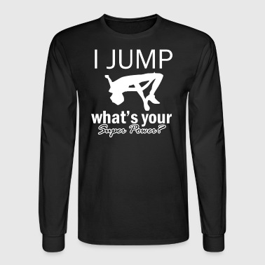 high jump design - Men's Long Sleeve T-Shirt