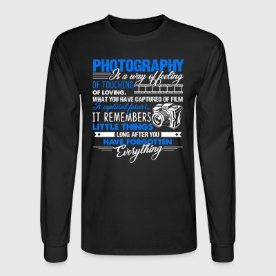 PHOTOGRAPHY SHIRT - Men's Long Sleeve T-Shirt