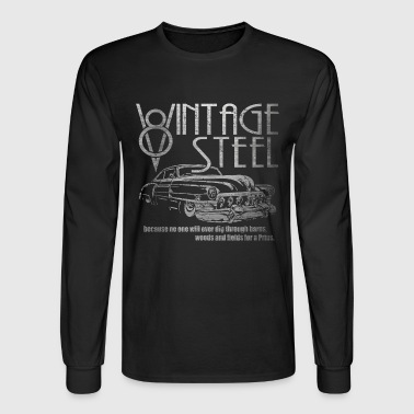 Vintage Steel #1 - Men's Long Sleeve T-Shirt