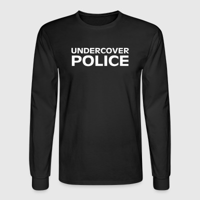 UNDERCOVER POLICE - Men's Long Sleeve T-Shirt