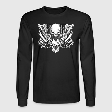 Awesome Got Ink - Tattoo Design, Tattoo - Men's Long Sleeve T-Shirt