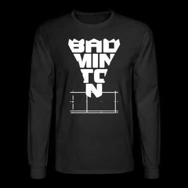Badminton Tee Shirt - Men's Long Sleeve T-Shirt