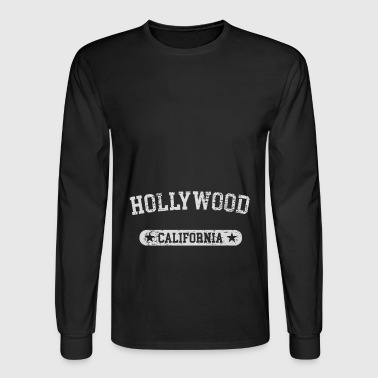 Hollywood California - Men's Long Sleeve T-Shirt
