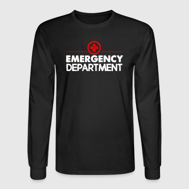 Emergency Department T Shirt - Men's Long Sleeve T-Shirt