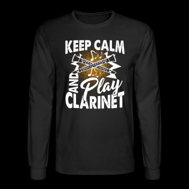 Clarinet Tee Shirt - Men's Long Sleeve T-Shirt