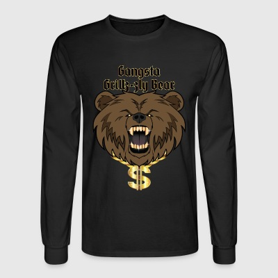 Grizzly Gangsta - Men's Long Sleeve T-Shirt
