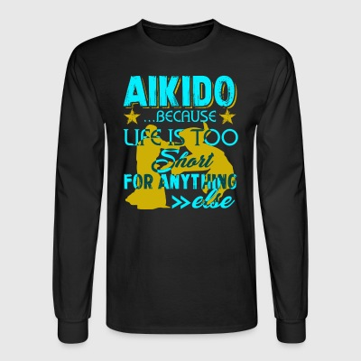 Aikido Shirts - Men's Long Sleeve T-Shirt