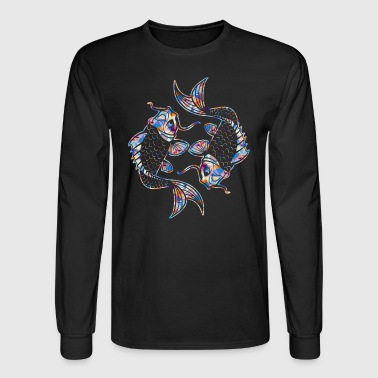 Koi Fish Tee Shirt - Men's Long Sleeve T-Shirt