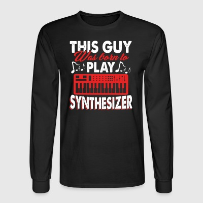 Synthesizer Tee Shirt - Men's Long Sleeve T-Shirt