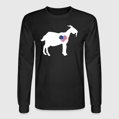 Goat Shirt - Men's Long Sleeve T-Shirt