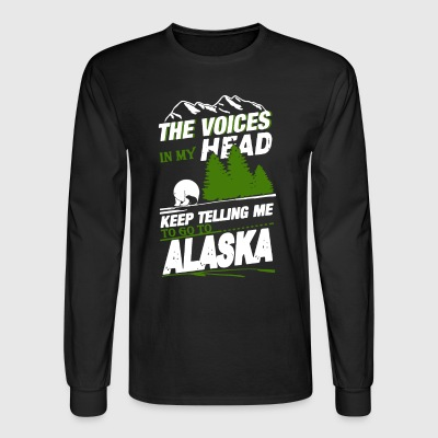 Alaska T Shirt - Men's Long Sleeve T-Shirt