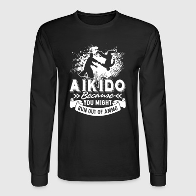 Aikido Tee Shirt - Men's Long Sleeve T-Shirt