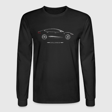 Car Guru - Dolores Silhouette - Men's Long Sleeve T-Shirt
