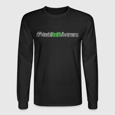 #MentalHealthAwareness - Men's Long Sleeve T-Shirt