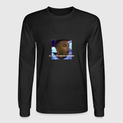 Si_Playzzz Meme And Vids Official Shirt - Men's Long Sleeve T-Shirt