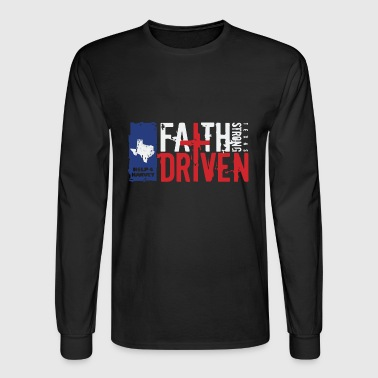 Hurricane Harvey texas - Men's Long Sleeve T-Shirt