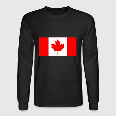 Canada country flag love my land patriot - Men's Long Sleeve T-Shirt
