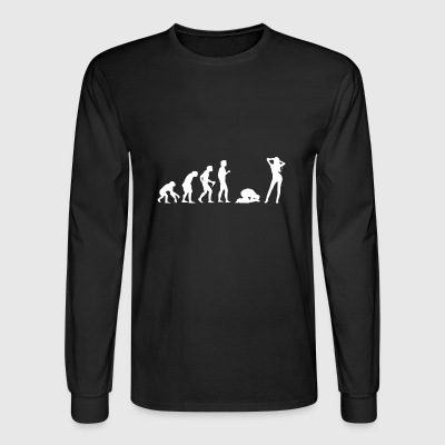 Bachelor Party Buck´s Night Stag Night Evolution - Men's Long Sleeve T-Shirt