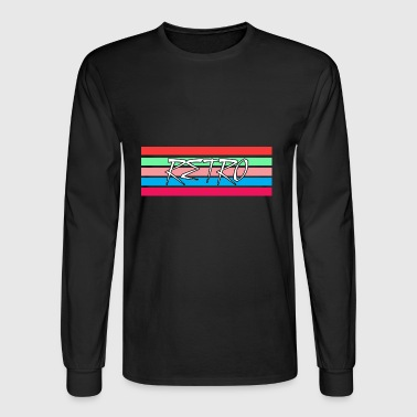 Retro Stripes - Men's Long Sleeve T-Shirt