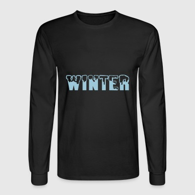 winter - Men's Long Sleeve T-Shirt