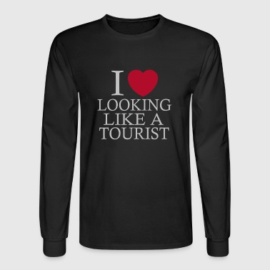 i love looking tourist - Men's Long Sleeve T-Shirt