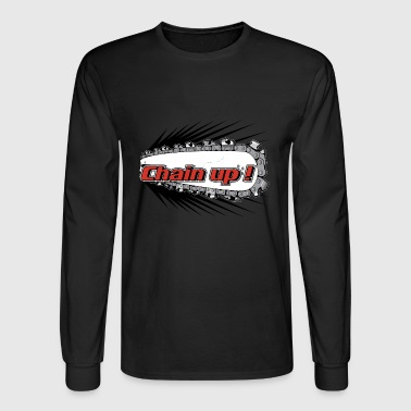 chain up - Men's Long Sleeve T-Shirt