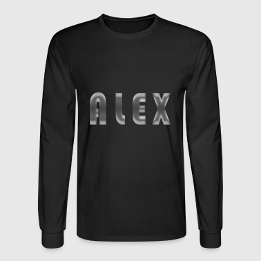 alex name - Men's Long Sleeve T-Shirt