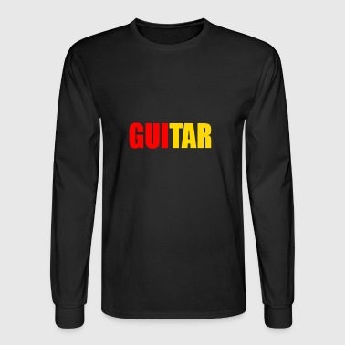 GUITARIST - Men's Long Sleeve T-Shirt