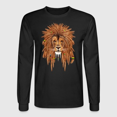 Lion Rasta - Men's Long Sleeve T-Shirt