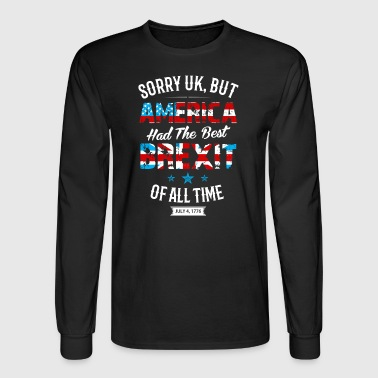 America Brexit - Men's Long Sleeve T-Shirt
