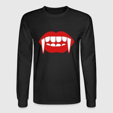 Fangs of a vampire - Men's Long Sleeve T-Shirt