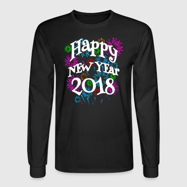 Happy New Year - Men's Long Sleeve T-Shirt