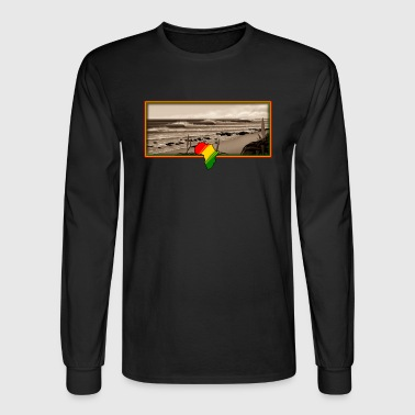 supers rasta T - Men's Long Sleeve T-Shirt