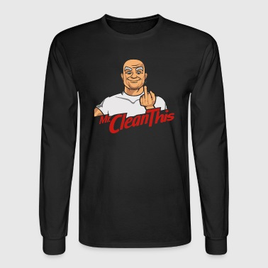 Mr clean this - Men's Long Sleeve T-Shirt