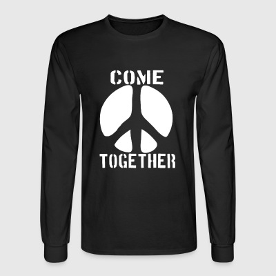 PEACE TOGETHER - Men's Long Sleeve T-Shirt