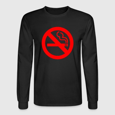 NO SMOKING - Men's Long Sleeve T-Shirt
