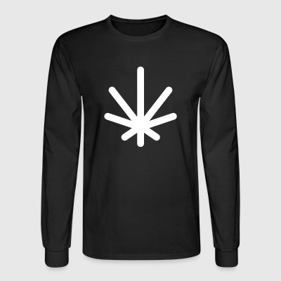 Classic Logo (White) - Men's Long Sleeve T-Shirt