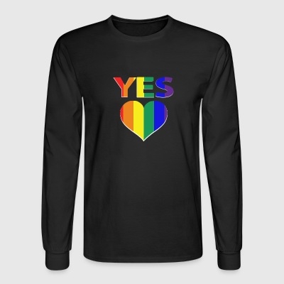 yes vote in marriage equality - Men's Long Sleeve T-Shirt