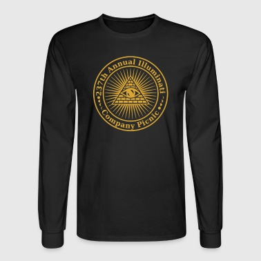 Illuminati Company Picnic - Men's Long Sleeve T-Shirt
