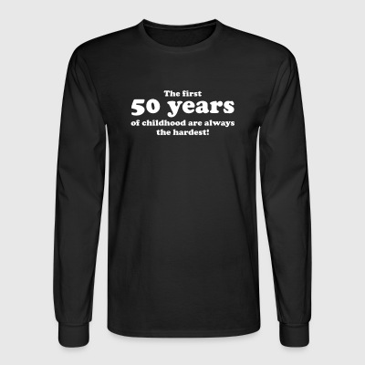 50 YEARS OF CHILDHOOD - Men's Long Sleeve T-Shirt
