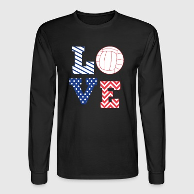 volleyball - Men's Long Sleeve T-Shirt