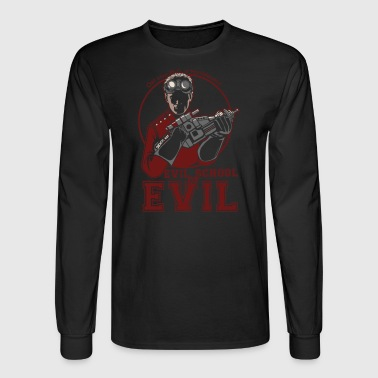 Dr.Horrible's Evil School of Evil - Men's Long Sleeve T-Shirt
