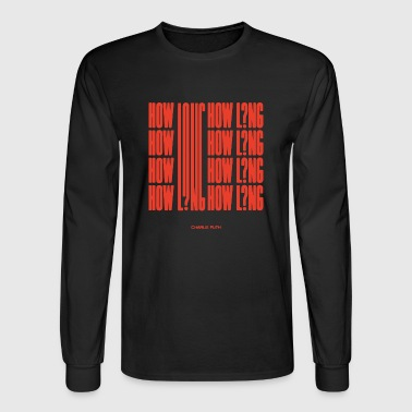 how long charlie puth - Men's Long Sleeve T-Shirt