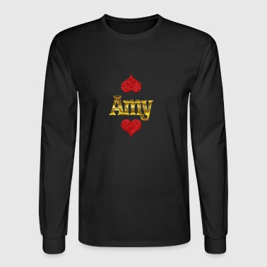 Amy - Men's Long Sleeve T-Shirt