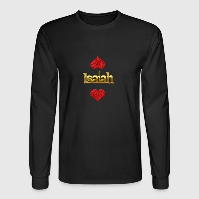 Isaiah - Men's Long Sleeve T-Shirt